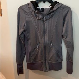 Gray zip up by MPG